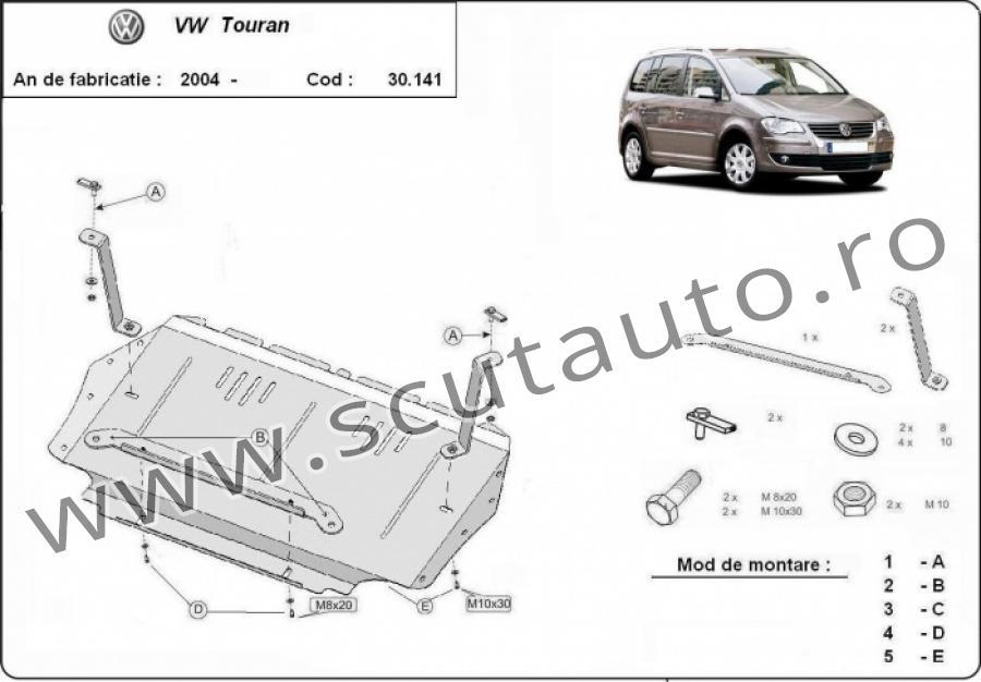 Scut auto Volkswagen Touran