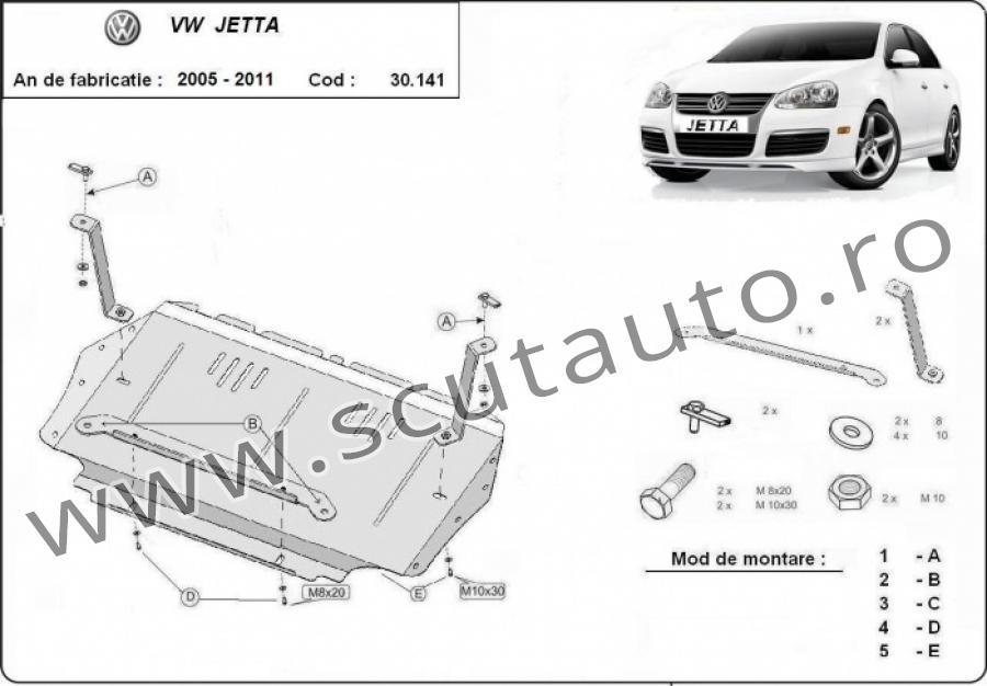Scut auto VW Jetta