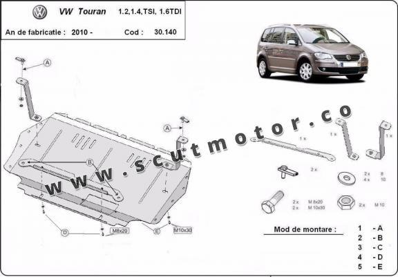 Scut motor Volkswagen Touran