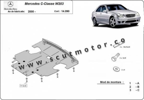 Scut motor Mercedes C-Class