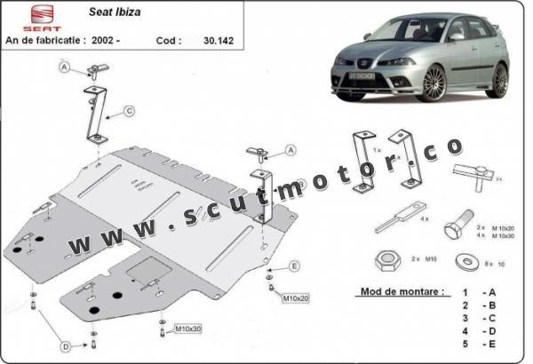 Scut motor Seat Ibiza