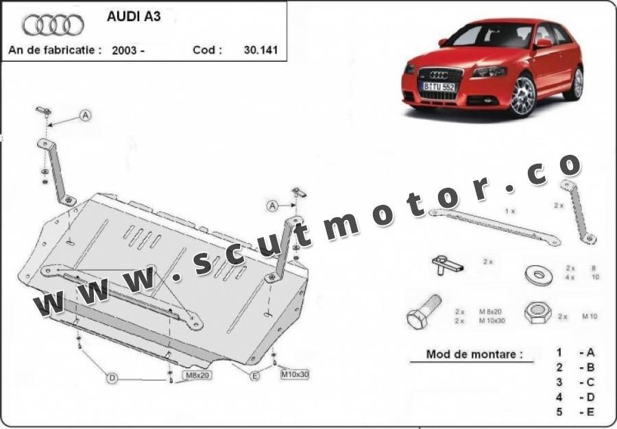 Scut motor Audi A3
