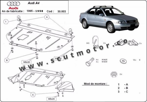 Scut motor Audi A4 1