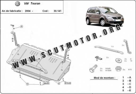 Scut auto Volkswagen Touran dupa 2003