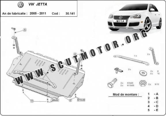Scut motor Volkswagen Jetta