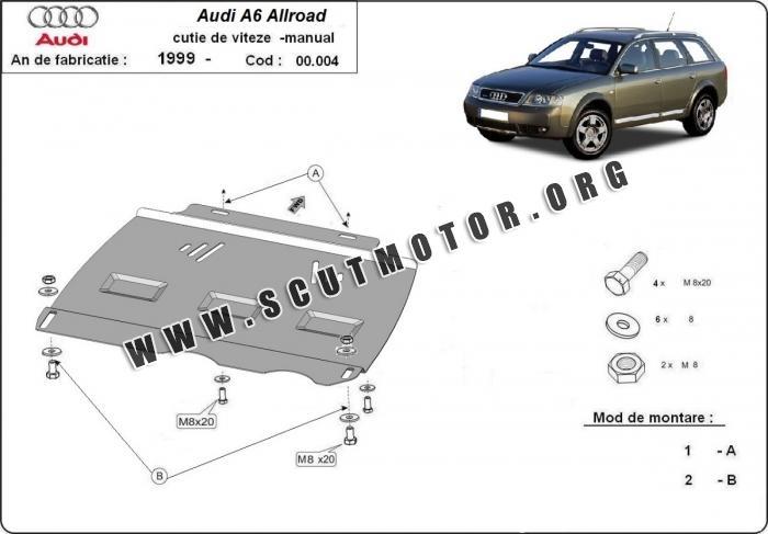 Scut cutie de viteză manuală Audi Allroad