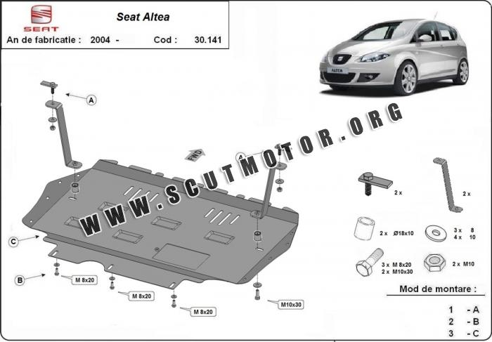 Scut auto Seat Altea dupa 2004