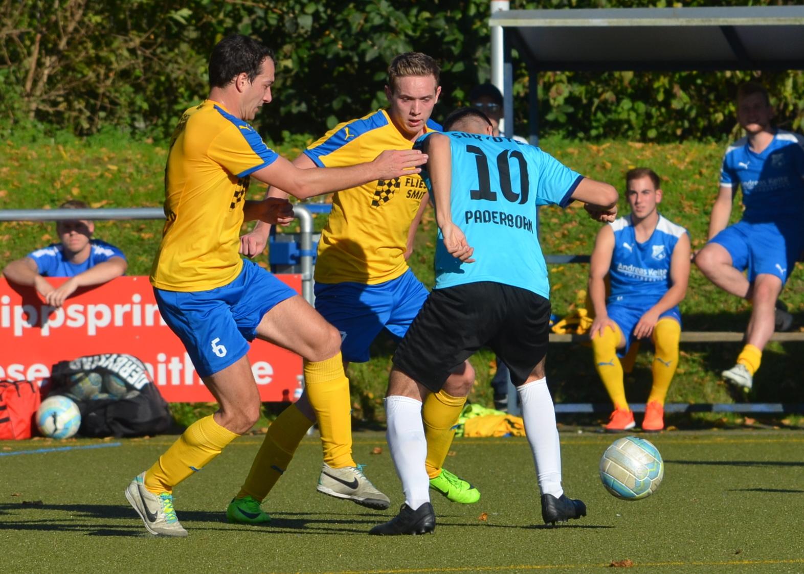 1. Mannschaft baut Tabellenführung nach 3:0 (2:0) über Suryoye Paderborn aus