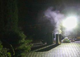 Schoonmaakmiddel zorgt voor rook