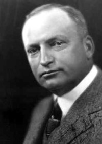 """Los Angeles District Attorney Asa """"Ace"""" Keyes who led the coroner's jury inquest following the St. Francis Dam disaster."""