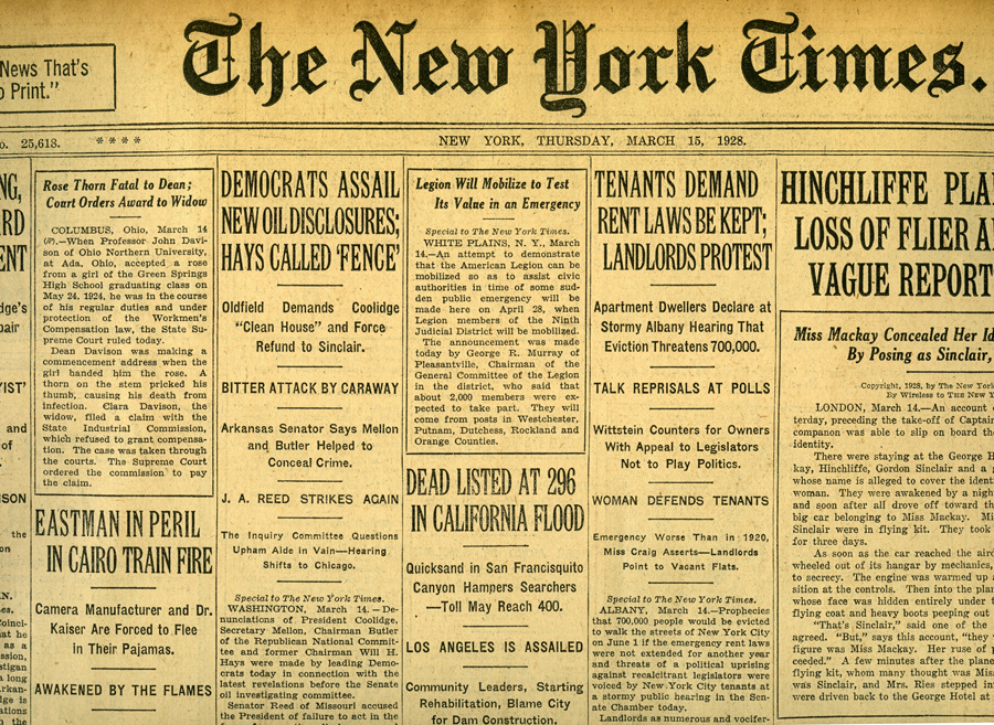 Early Newspapers New York Times