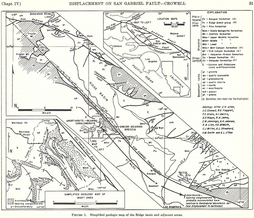 Download Geologic History of Ridge Basin Southern