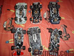Coches Scalextric moho