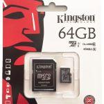 Kingston MicroSDXC 64GB geheugenkaart kopen?