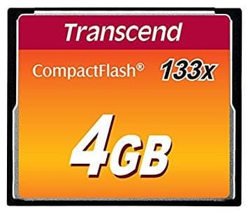 Transcend Compact Flash Card 4GB