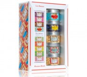 KUSMI TEA COFFRET LES RUSSES + PINCE A THE 5 x 25 g