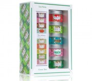 KUSMI TEA COFFRET LES VERTS + PINCE A THE 5 x 25 g