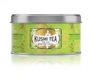 KUSMI TEA THE VERT GINGEMBRE CITRON 125 g