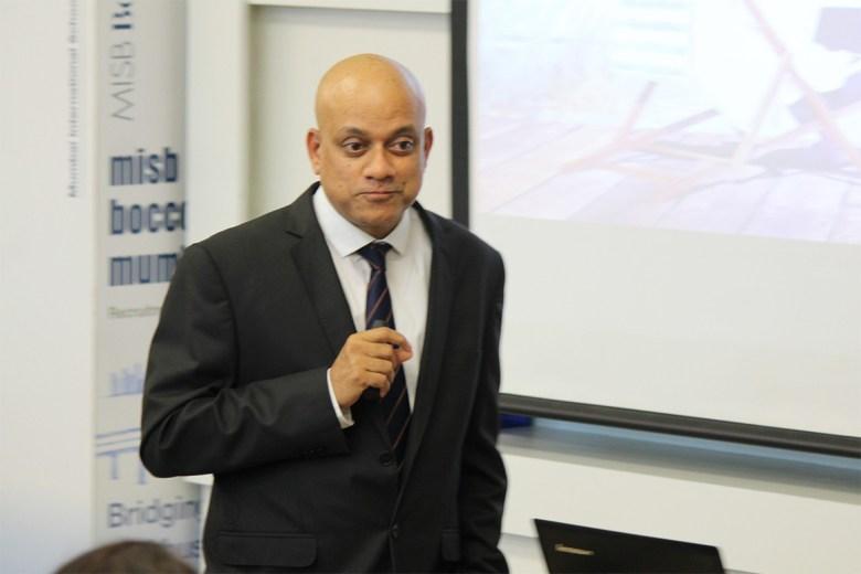 Leadership Program with Mr. Suvamoy Roy Choudhury
