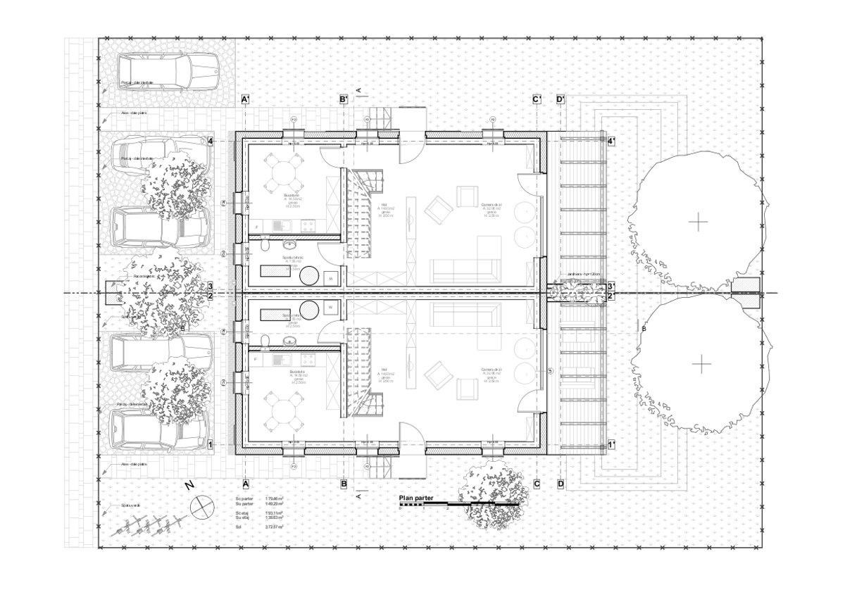 Sdac Studio Archive Passive House Duplex