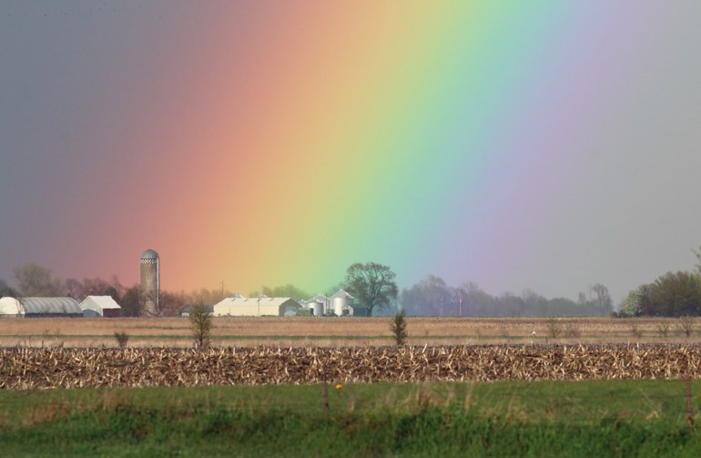 End of the Rainbow - Lincoln County, South Dakota