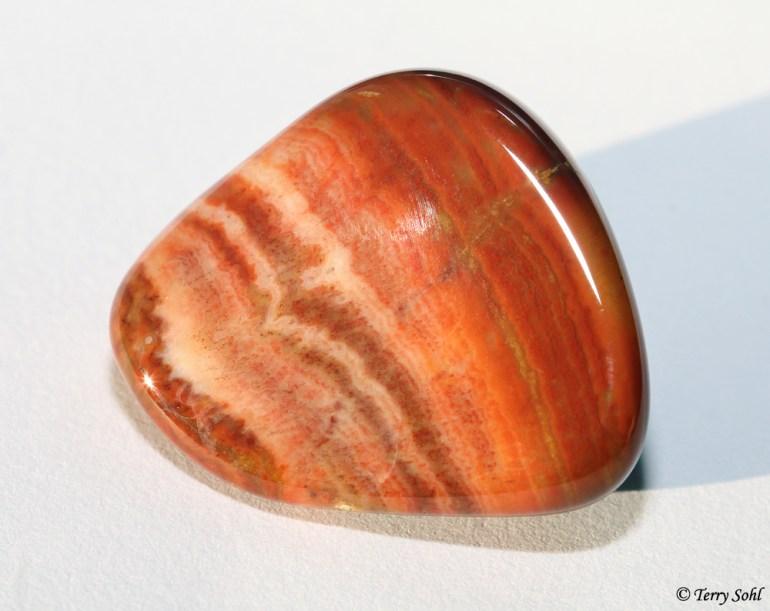Polished Red Prairie Agate