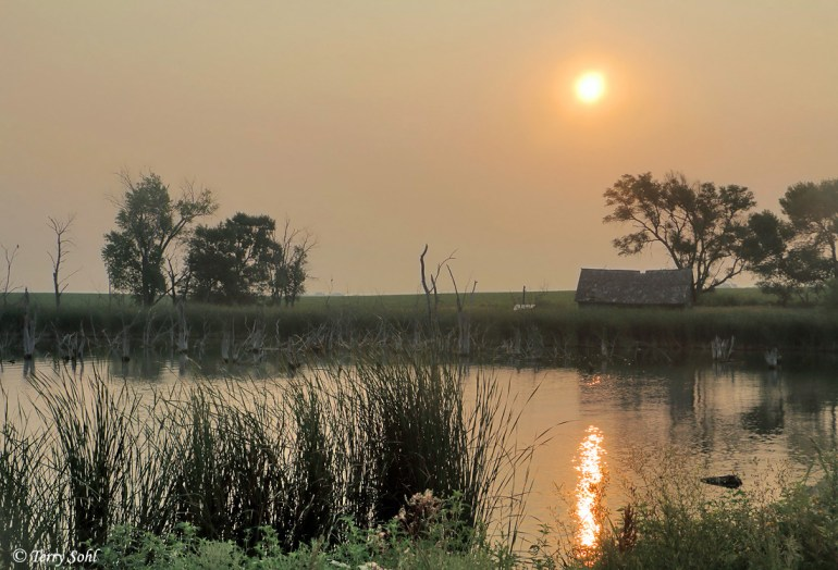Highway 81 Lakes and Smoky Sky