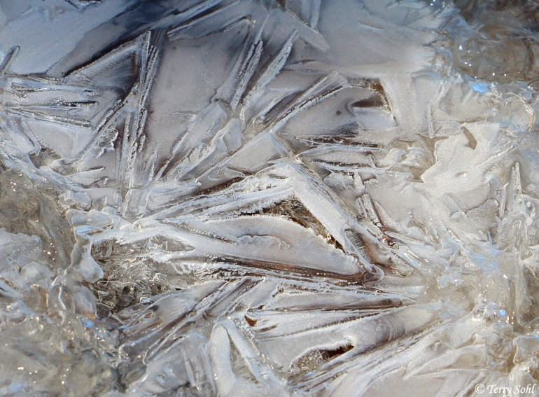 Ice Pattern 2 - Minnehaha County, South Dakota