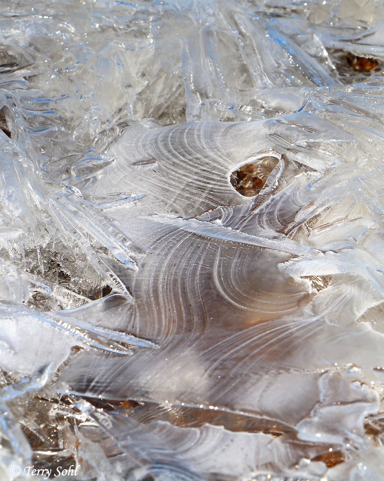 Ice Pattern 4 - Minnehaha County, South Dakota