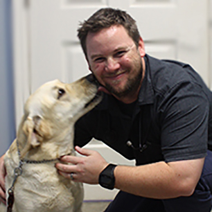 Best Encinitas Veterinarian at Coastal Animal Hospital, Dr. Ryan Tedder