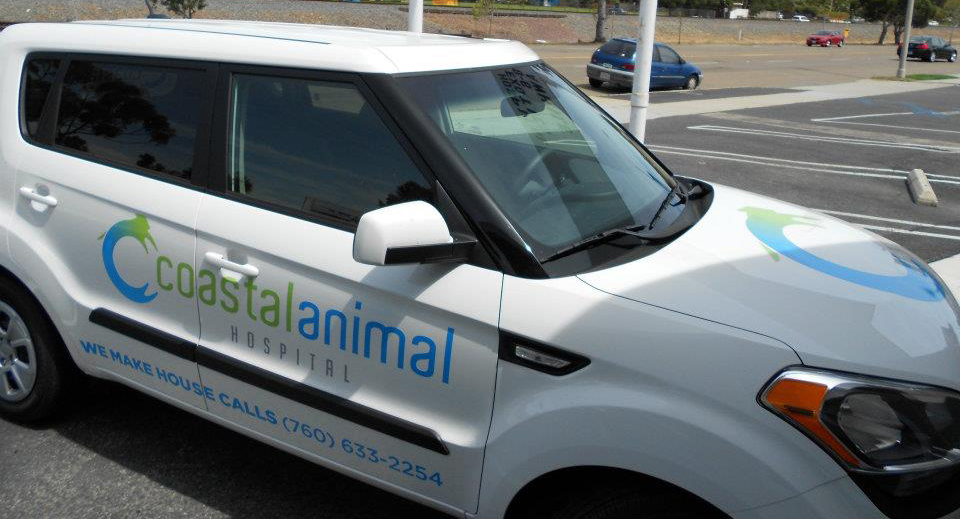 Coastal Animal House Call vehicle