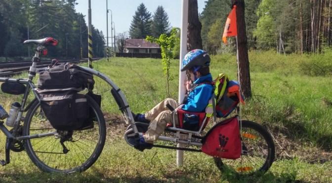 Pánská jízda s Weehoo I go ve východních Čechách