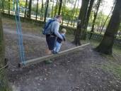 Lanový park - nízké překážky