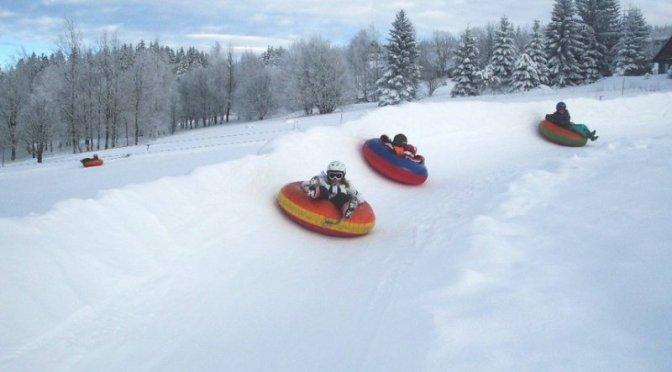 Skiareál Benecko s dětmi