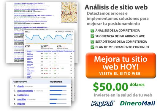 analisis de sitio web posiciona tu web en Google