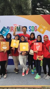 Proud supporters of SDG!