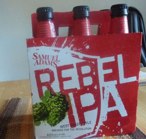Rebel IPA Sam Adams