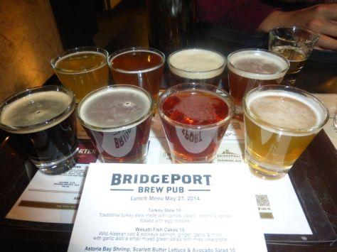 Bridgeport taster flight.