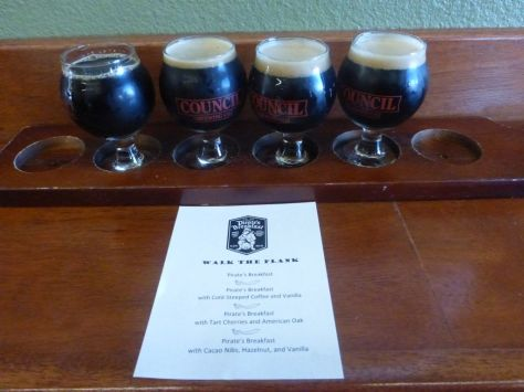 Flight of stout tasters!