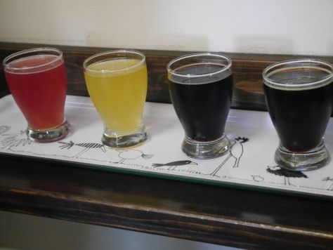 Tasters of the sours and a few stouts.