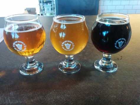 Duckfoot Brewing Company Taster Flight