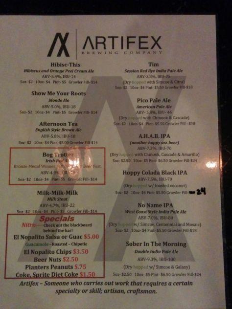 Artifex Brewing 02