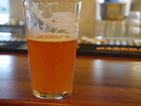Delicious Raspberry beer.