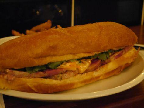 The delicious Banh Mi.
