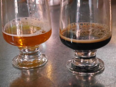 The IPA and Stout that did not taste remotely to style.