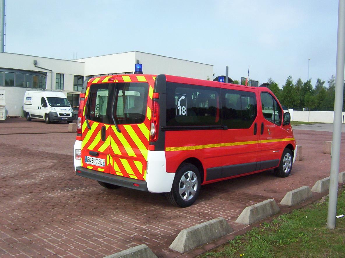 Sapeurs Pompiers De La Moselle Vhicule De Transport De