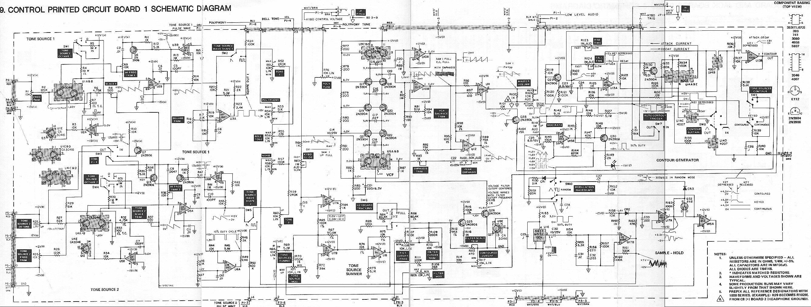[WRG-1056] Radio Shack Schematic Diagrams