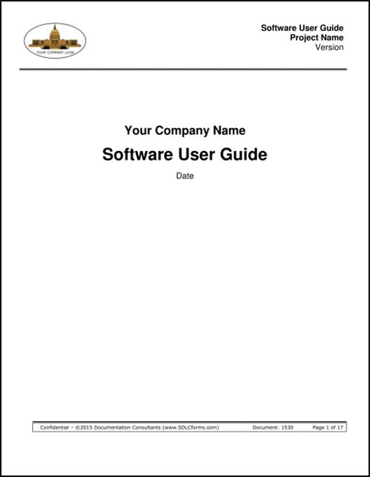 SDLCforms Software User Guide