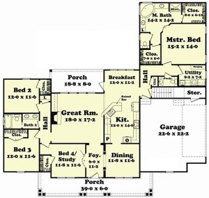 Custom Cape Cod House Plan