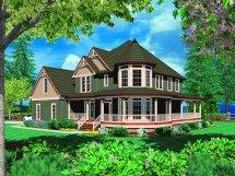 Custom Victorian With Wrap Porch Maverick Homes